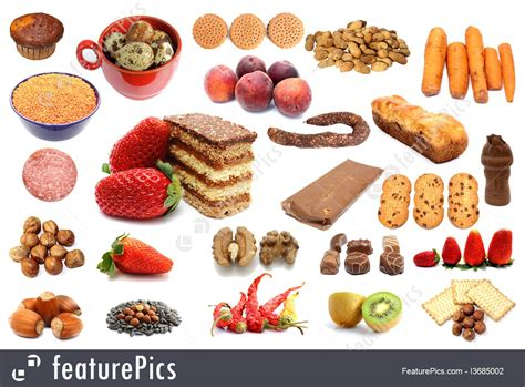 different types of food picture