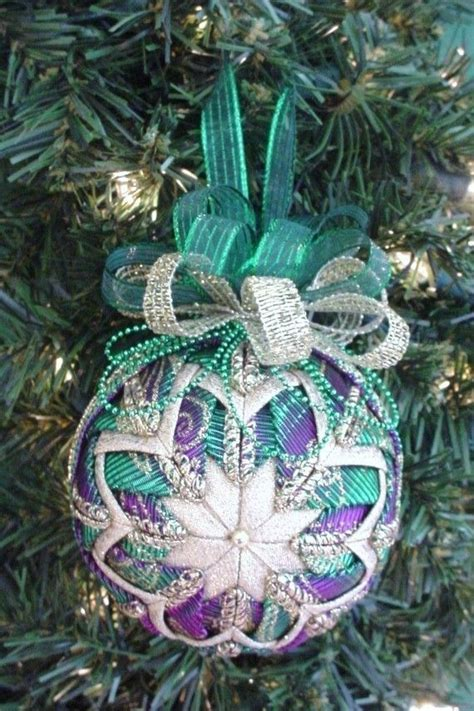 quilted christmas ornament pattern  tutorial folded
