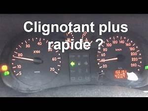 Scenic 2 Ne Demarre Pas : probl me clignotant plus rapide solution renault clio 2 youtube ~ Maxctalentgroup.com Avis de Voitures