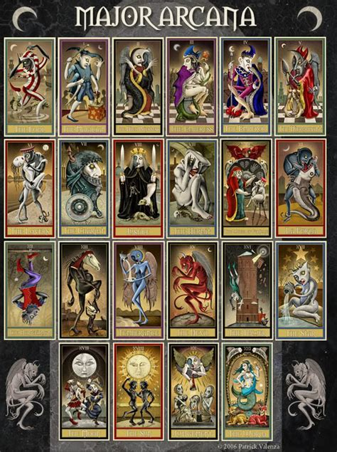arcana deck 2011 out of the shadows deviant moon tarot