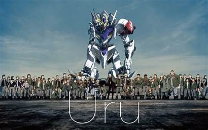 Orphans Gundam Blooded Iron Mobile Suit Anime