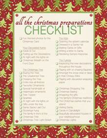 christmas decoration checklist holliday decorations