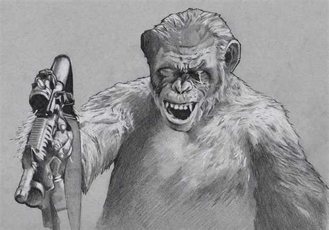Koba (dawn Of The Planet Of The Apes)