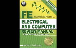 Fe Electrical And Computer Review Manual By Michael R