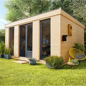 Gouttière Pour Abri De Jardin : abri de jardin bois decor home m mm leroy merlin ~ Melissatoandfro.com Idées de Décoration