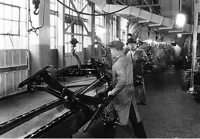 Ford Mechanization Assembly Line Detroit Rivera Henry