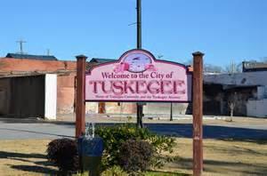 Tuskegee Alabama Map