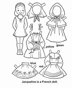 Printable Paper Doll Cutouts | bluebonkers youth activity ...