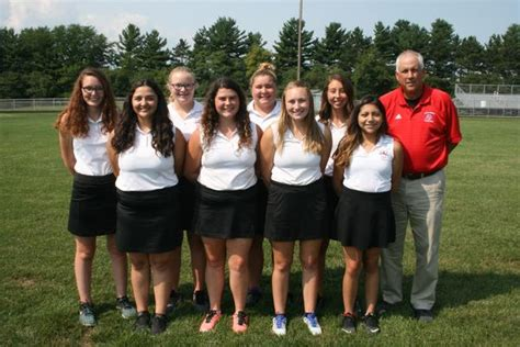 west noble high school girls varsity golf fall schedule