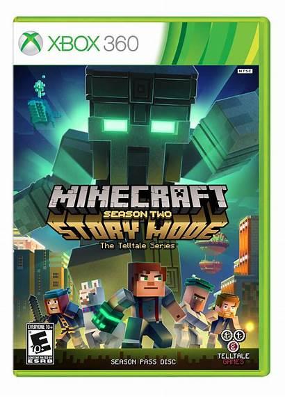 Xbox Minecraft 360 Mode Story Season Games