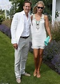 Brendan Cole's pregnant wife covers up at Audi ...