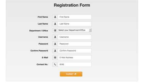 bootstrap 3 registration form with validation