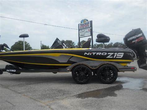 Boat Parts Tyler Tx by 2018 Nitro Z19 Pro Package Tyler Texas Boats