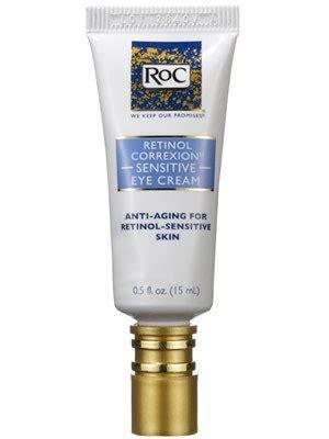RoC Retinol Correxion Sensitive Eye Cream Review | Allure