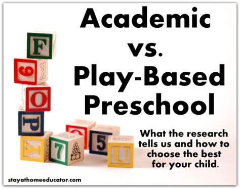 academic vs play based preschool what reasearch tells us 542 | Academic vs. Play Based Preschool