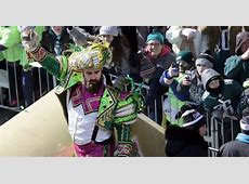 How Jason Kelce wound up wearing a Mummers costume at