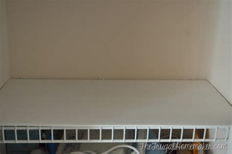wire shelf covers how to change up wire shelves for less than 10