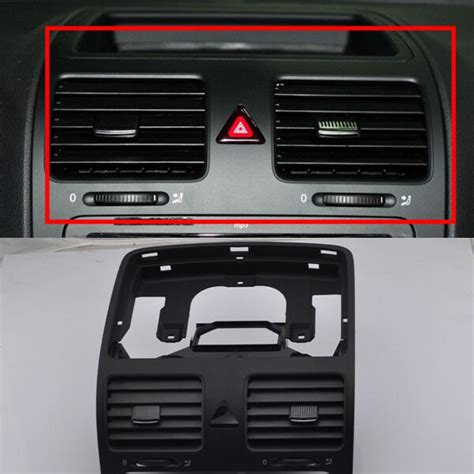 front dash central air outlet vent for vw jetta golf gti rabbit mk5 mkv black ebay