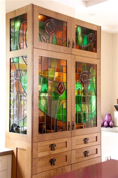 stained glass for kitchen cabinets shaughnessy stained glass cabinet vancouver gilroy 8220