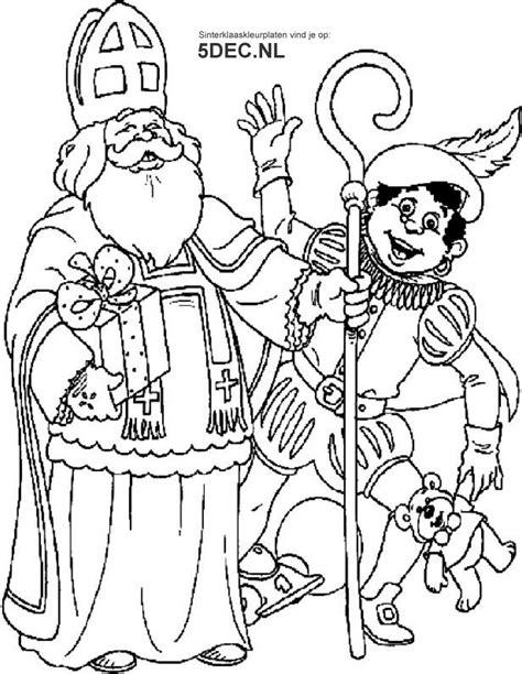 Kleurplaat Sinterklaas 2016 Afdrukken by Sinterklaas Knutselen Sinterklaas Kleurplaten