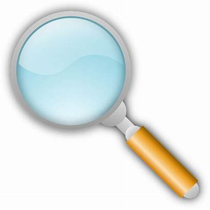 Magnifying Glass Clipart Clip Lupe Icon Magnification