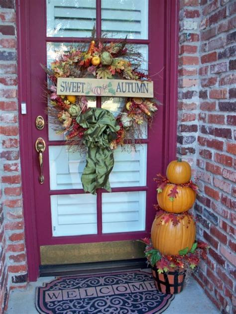 Ideas For Fall Front Porch by Front Porch Decorating Ideas For Fall Ultimate Home Ideas