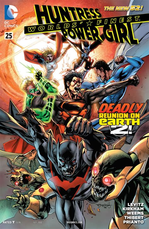 Worlds' Finest #25 Review  Major Spoilers