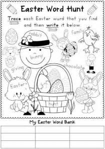Easter Reading Worksheets