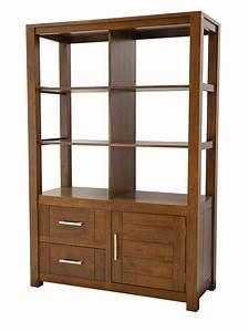 Bibliotheque Bois Clair : biblioth que en bois esprit contemporain ahor 5186 ~ Teatrodelosmanantiales.com Idées de Décoration
