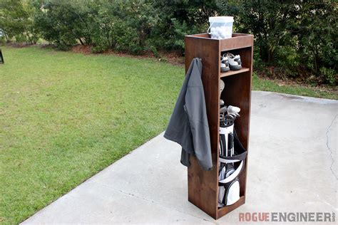 diy golf locker  easy plans rogue engineer