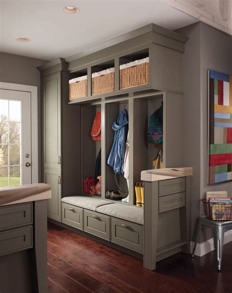 Sage By Kitchen Story de jong dream house mudroom lockers