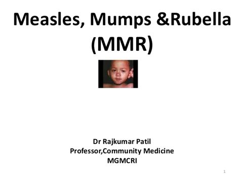 Measles-Mumps Rubella