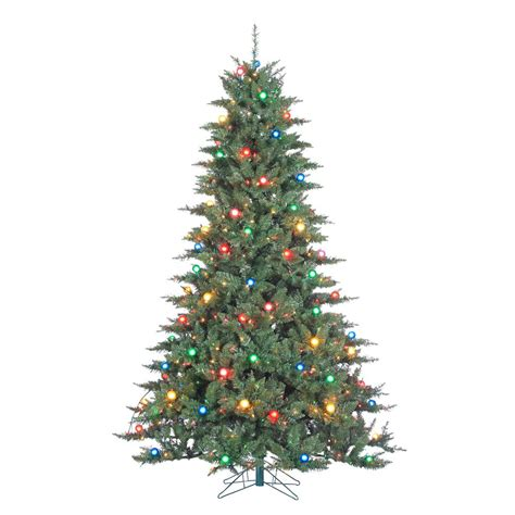 5 pre lit christmas tree sterling 7 5 ft pre lit indoor reno pine artificial 6553
