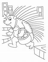 Porcupine Coloring Pig Quill Sheet Bestcoloringpagesforkids Porcupines Printable Sheets Library Clipart Results sketch template