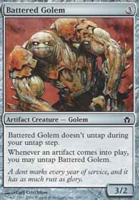 battered golem fifth magic the gathering gaming store for cards miniatures
