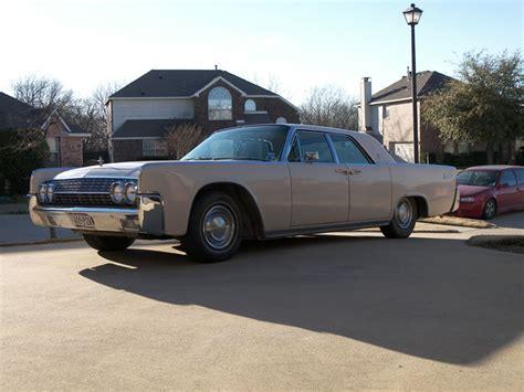 '62 Lincoln Continental