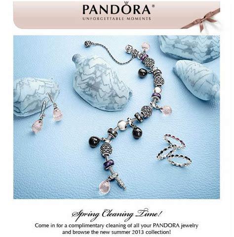 pandora jewelry complimentary cleaning   pandora