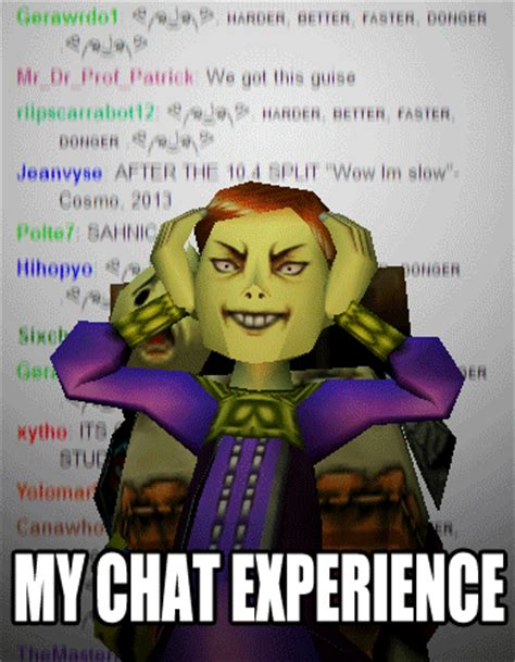 Twitch Chat Memes - my chat experience twitch know your meme