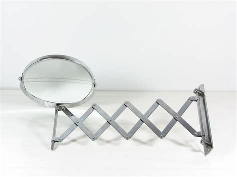 Sided Bathroom Mirror by Vintage Accordion Mirror Two Sided Swivel Bathroom Makeup