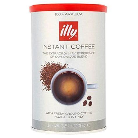 Illy classic roast coffee beans, medium roast, 250 g. Illy Instant Coffee 100g | Instant coffee, Illy, Illy coffee