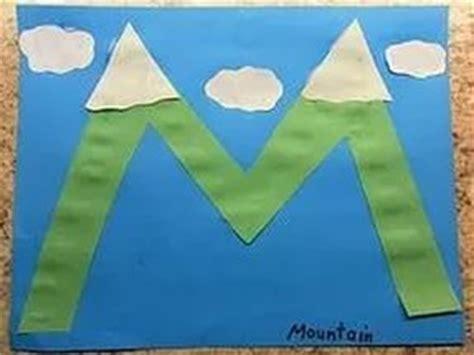 letter m crafts preschool and kindergarten 188 | free alphabet letter m crafts mountain