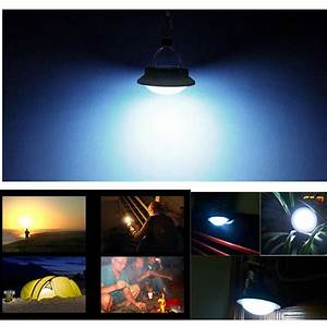Promotion led camping hiking outdoor light tent umbrella
