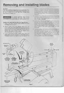 Dremel 1671 Saw Owner U0026 39 S Manual Pdf View  Download  Page   7