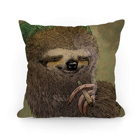 stoner sloth pillows human