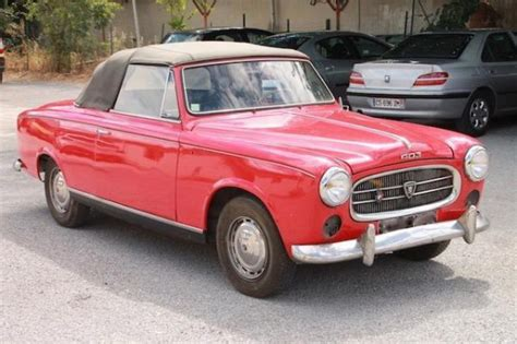 Peugeot 403 For Sale by Classic Car 1959 Peugeot 403 Convertible For Sale With