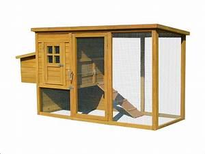 Cabane Pour Poule : poulailler en bois pas cher avec enclos pour 2 poules ~ Premium-room.com Idées de Décoration