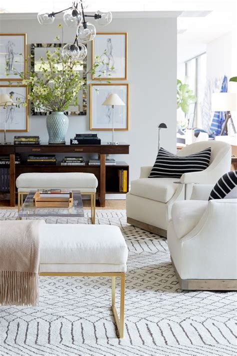 neutral  patterned rug ideas emily  clark