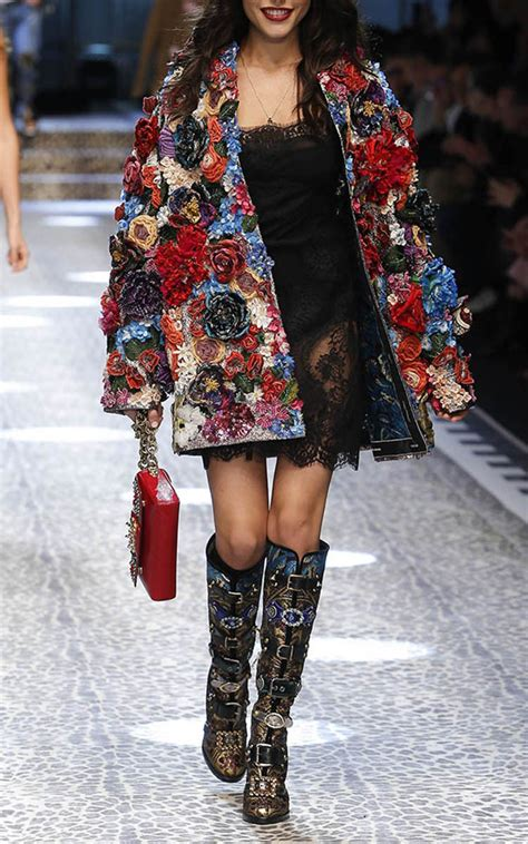 3D Floral Jacket by Dolce & Gabbana | Moda Operandi