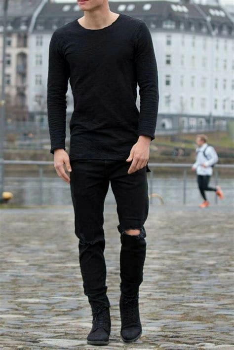 14 Coolest All Black Casual Outfit Ideas For Men ...