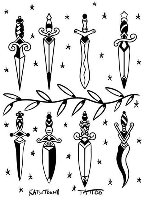 Dagger tattoo ideas | Dagger tattoo, Traditional dagger